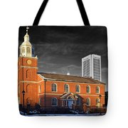 Old Otterbein U M C Selective Color Tote Bag