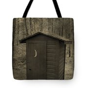 Old Outhouse Out Back Tote Bag