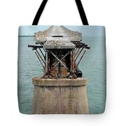 Old Overseas Hgwy Bridge 2 Tote Bag