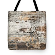 Old Painted Wood Abstract No.1 Tote Bag by Elena Elisseeva