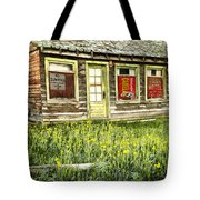 Old Park Motel Tote Bag