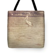 Old Pelican Photograph Tote Bag
