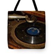 Old Phonograph Tote Bag