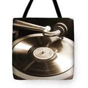 Old Phonograph Tote Bag by Mike McGlothlen
