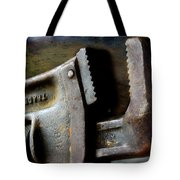 Old Pipe Wrench Tote Bag