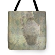 Old Pitcher Abstract Tote Bag