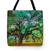 Old Plantation Oak Tote Bag