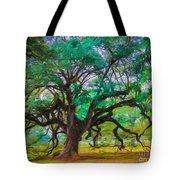 Old Plantation Oak Tote Bag