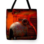 Old Plymouth Red Tote Bag