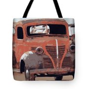 Old Plymouth Trucks Tote Bag