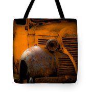 Old Plymouth Yellow Tote Bag
