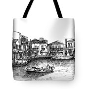 Old Port- Rethymno Tote Bag