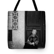 Old Portuguese Woman Tote Bag