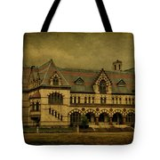 Old Post Office - Customs House Tote Bag by Sandy Keeton