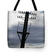 Old Power Pole Tote Bag