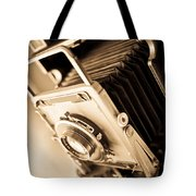 Old Press Camera Tote Bag by Edward Fielding