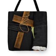 Old Priest Tote Bag