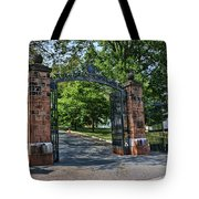 Old Queens Entrance Gate Tote Bag