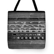 Old Radio Change The Station Tote Bag
