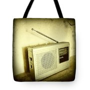 Old Radio Tote Bag