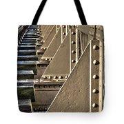 Old Railway Bridge In The Netherlands Tote Bag