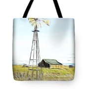 Old Ranch Windmill Tote Bag