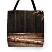 Old Recorder Tote Bag