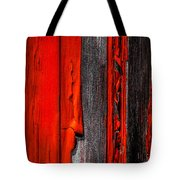 Old Red Barn Four Tote Bag