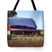 Old Red Barn Near Etowah Nc Tote Bag