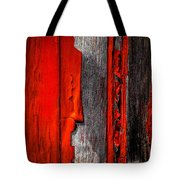 Old Red Barn One Tote Bag