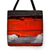 Old Red Barn Three Tote Bag