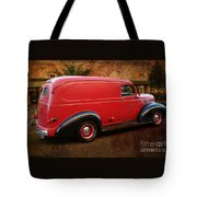 Old Red Tote Bag