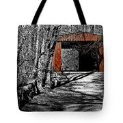 Old Red Bridge Tote Bag