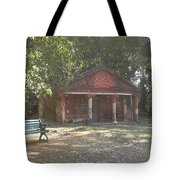 Old Red House In Lal Bag Tote Bag