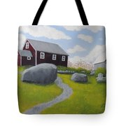 Old Red Schoolhouse Tote Bag