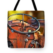 Old Red Tractor Ford 9 N Tote Bag