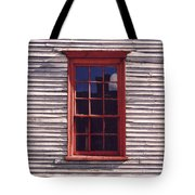 Old Red Window Tote Bag