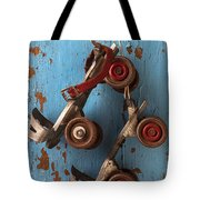 Old Roller Skates Tote Bag