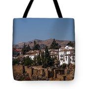 Old Ronda Panoramic. Andalusia. Spain Tote Bag