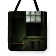 Old Room - Abandoned Asylum - The Presence Outside Tote Bag by Gary Heller