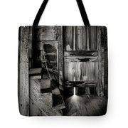 Old Room - Rustic - Inside The Windmill Tote Bag by Gary Heller