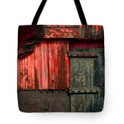 Old Rr Snow Plow  Tote Bag