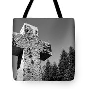 Old Rugged Cross Bw Tote Bag