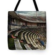 Old Ruined Stadium Tote Bag