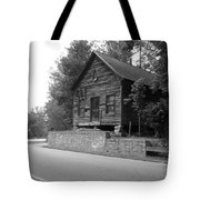 Old Rustic Cabin Tote Bag