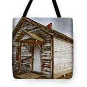 Old Rustic Rural Country Farm House Tote Bag