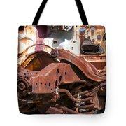 Old Rusty Tote Bag