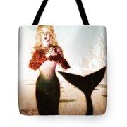 Old Sailors Dream - The Mermaid Tote Bag