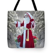 Old Saint Nick Tote Bag