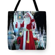 Old Saint Nick Walt Disney World Digital Art 02 Tote Bag